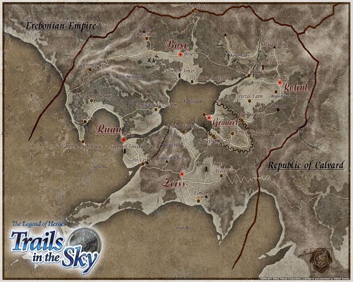 英雄传说六空之轨迹翡翠之塔第四层地图